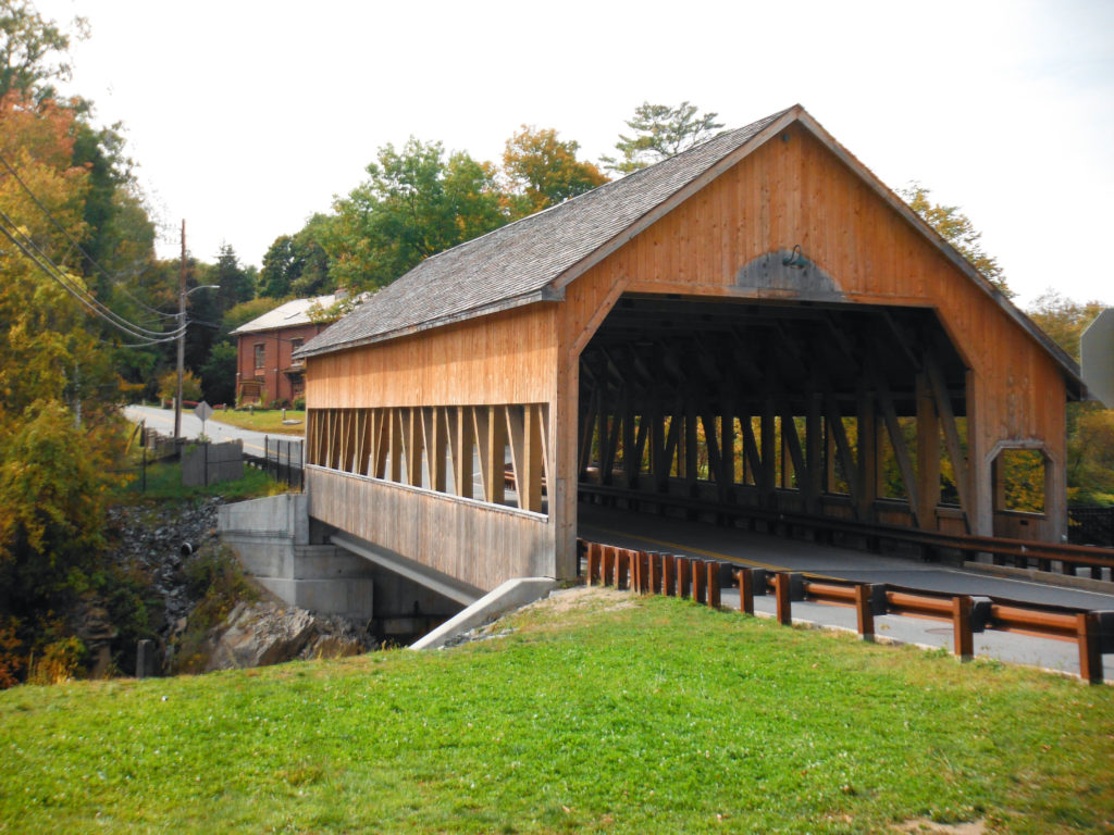This is the real deal - a red covered bridge just like on my cover!!!