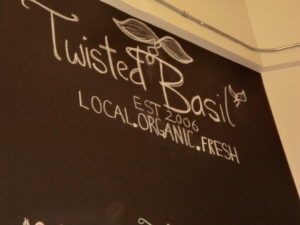 Found a great lunch spot in Cochrane Alberta called Twisted Basil Cafe & Fresh Market